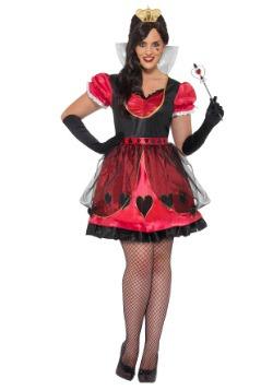 Plus Size Queen of Wonderland Costume