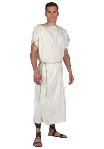 Click Here to buy Plus Size Toga Halloween Mens Costume from HalloweenCostumes, CDN Funds & Shipping