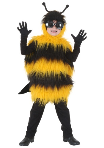 Click Here to buy Deluxe Kids Bumblebee Costume from HalloweenCostumes, CDN Funds & Shipping