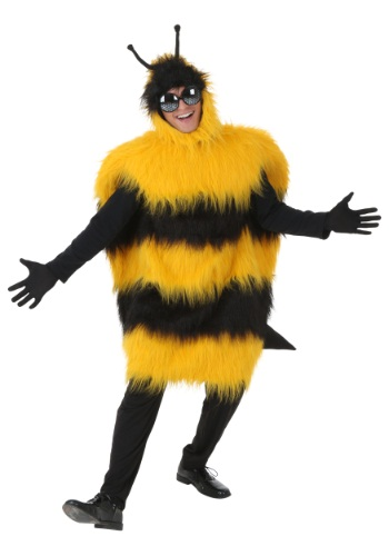 Click Here to buy Plus Size Deluxe Bumblebee Costume from HalloweenCostumes, CDN Funds & Shipping