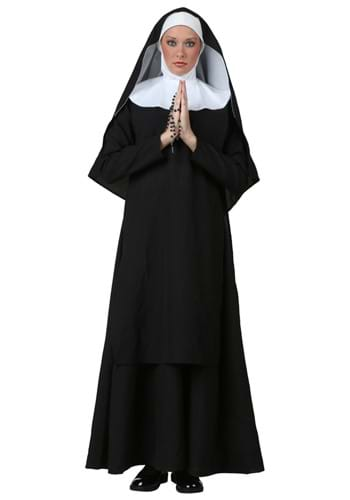 Click Here to buy Deluxe Nun Costume from HalloweenCostumes, CDN Funds & Shipping