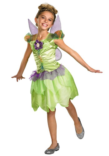 Click Here to buy Girls Tinker Bell Rainbow Costume from HalloweenCostumes, CDN Funds & Shipping