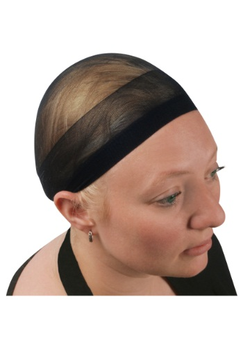 Click Here to buy Black Wig Cap from HalloweenCostumes, CDN Funds & Shipping