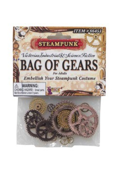 Steampunk Bag of Gears