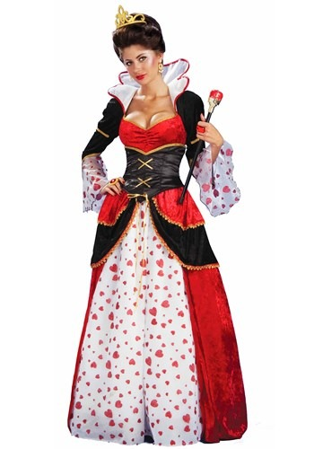 Click Here to buy Womens Queen of Hearts Costume from HalloweenCostumes, CDN Funds & Shipping