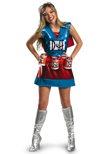 Click Here to buy Sexy Duffwoman Costume from HalloweenCostumes, CDN Funds