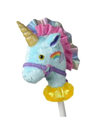"""Fancy Prancer Unicorn 33"""" Horse on a Stick"""