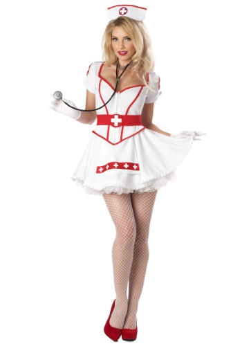 Click Here to buy Womens Plus Size Nurse Heartbreaker Costume | Sexy Nurse from HalloweenCostumes, CDN Funds & Shipping