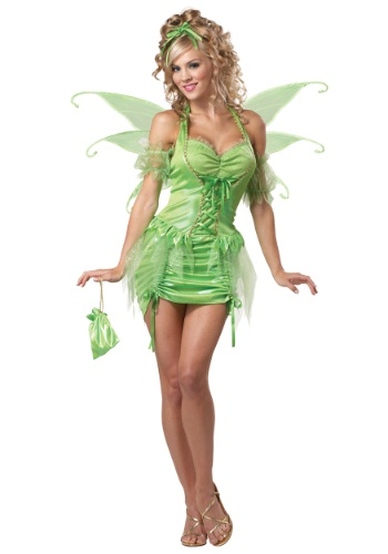 Click Here to buy Womens Plus Size Tinkerbell Fairy Costume from HalloweenCostumes, CDN Funds & Shipping