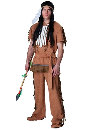 Click Here to buy Plus Size Native American Costume from HalloweenCostumes, CDN Funds & Shipping