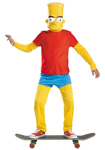 Kids Deluxe Bart Simpson Costume