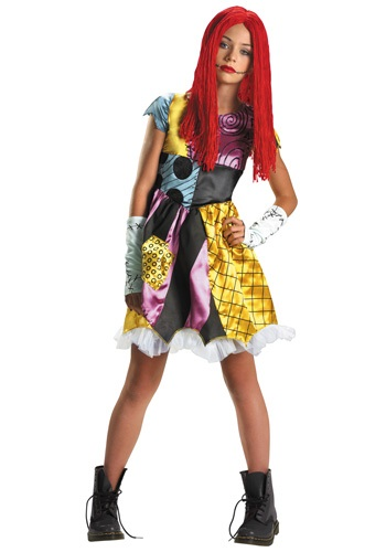 Tween Sally Costume | Nightmare Before Christmas Costume