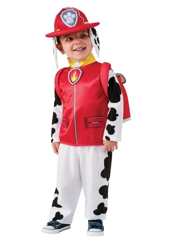 Click Here to buy Paw Patrol: Marshall Kids Costume from HalloweenCostumes, CDN Funds & Shipping