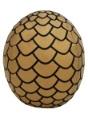 Game of Thrones Plush Gold Dragon Egg