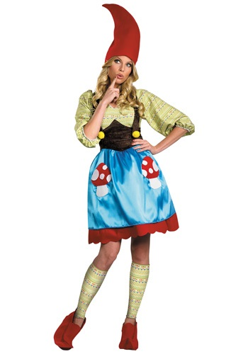 Click Here to buy Miss Gnome Costume from HalloweenCostumes, CDN Funds & Shipping