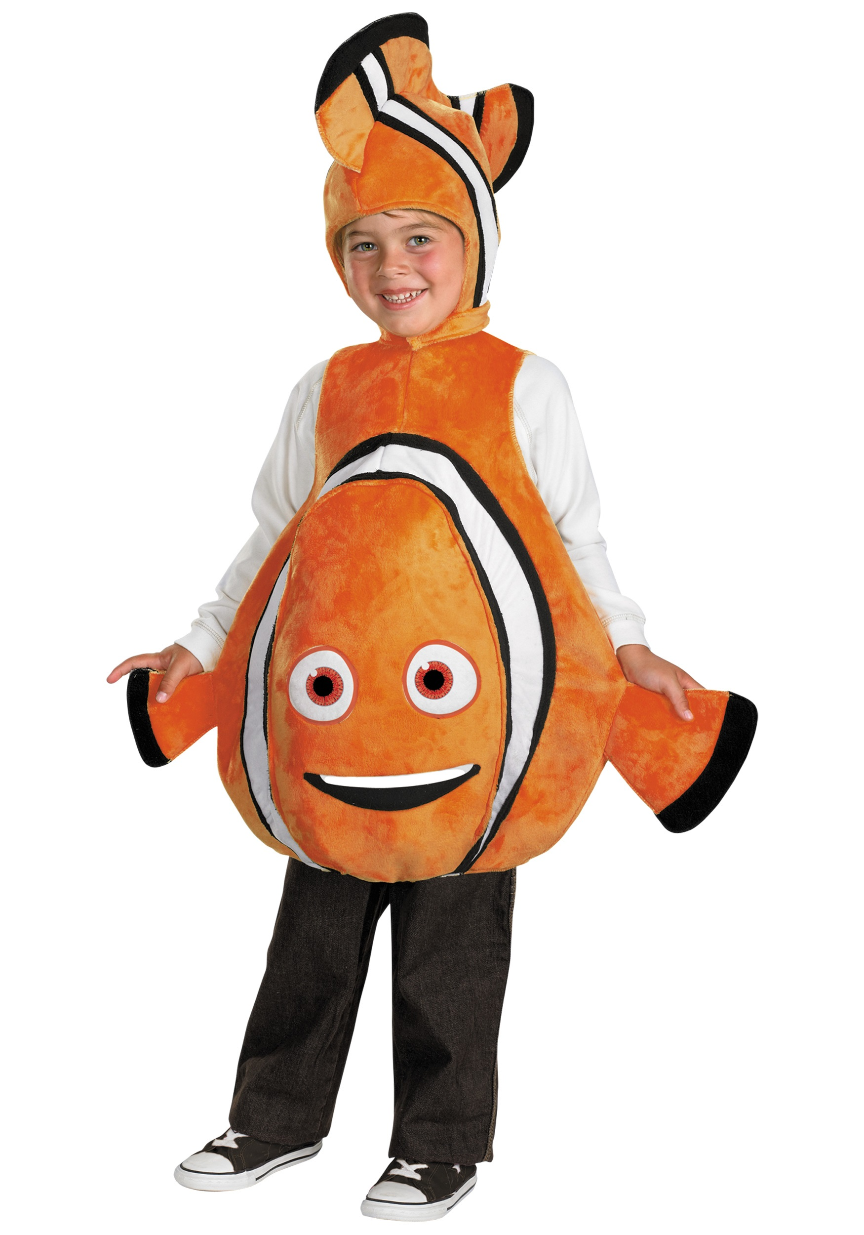 Toddler Deluxe Finding Nemo Costume  sc 1 st  Halloween Costumes & Toddler Deluxe Finding Nemo Costume - Nemo Costume for Toddlers