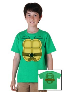 Kids Ninja Turtle Costume T-Shirt