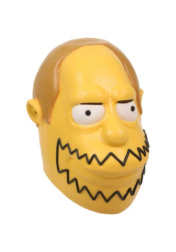 Click Here to buy The Simpsons Comic Book Guy Mask from HalloweenCostumes, CDN Funds & Shipping