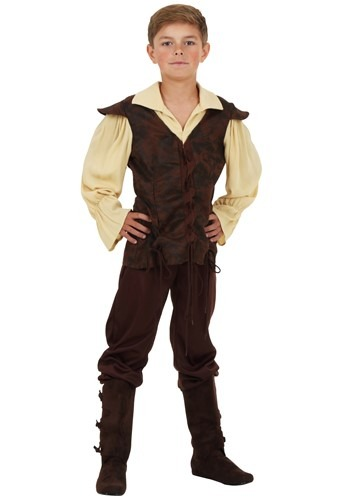 Click Here to buy Boys Renaissance Squire Costume from HalloweenCostumes, CDN Funds & Shipping