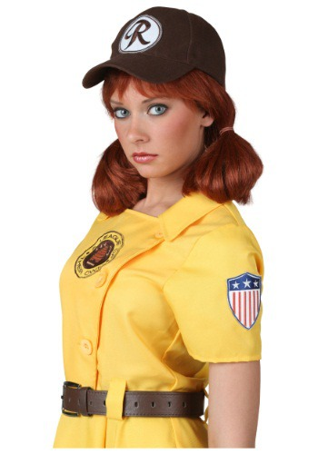 Click Here to buy A League of Their Own Kit Wig from HalloweenCostumes, CDN Funds & Shipping