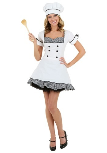 Click Here to buy Sexy Chef Costume | Chef Halloween Costume For Women from HalloweenCostumes, CDN Funds & Shipping