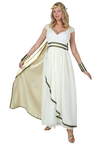 Click Here to buy Plus Size Goddess Costume from HalloweenCostumes, CDN Funds & Shipping
