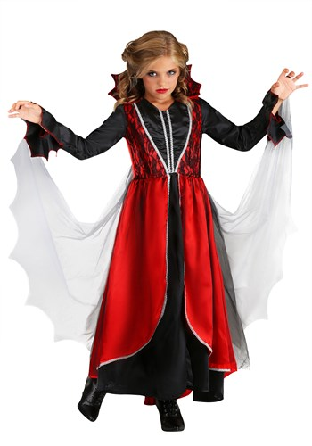 Click Here to buy Girls Vampire Costume from HalloweenCostumes, CDN Funds & Shipping