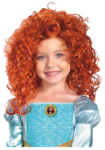 Click Here to buy Kids Merida Wig from HalloweenCostumes, CDN Funds & Shipping