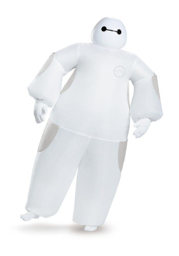 Click Here to buy Adult White Baymax Inflatable Costume from HalloweenCostumes, CDN Funds & Shipping