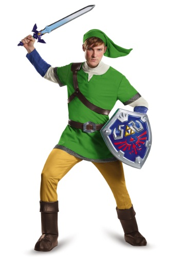Click Here to buy Deluxe Adult Link Costume from HalloweenCostumes, CDN Funds & Shipping