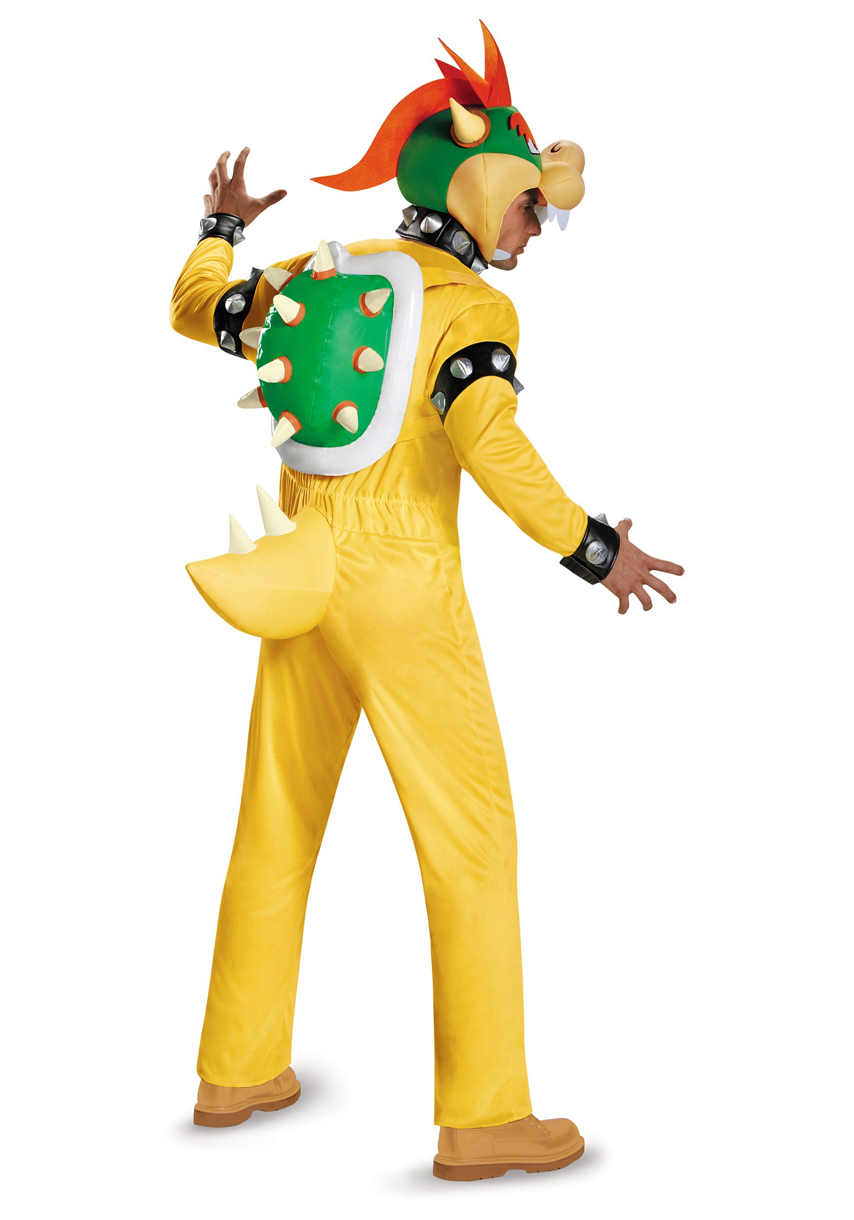 Super Mario Bros Evil Bowser Adult Men Deluxe Costume