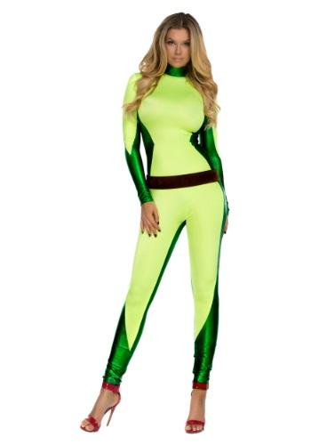 Women's Superhero Catsuit Front
