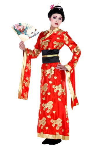 Click Here to buy Plus Size Kimono Costume from HalloweenCostumes, CDN Funds & Shipping