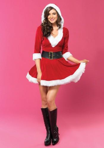 Sassy Mrs Claus Costume