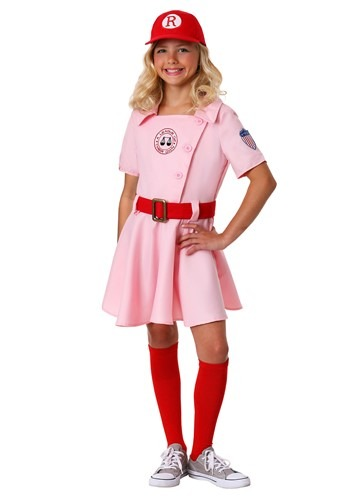 Click Here to buy Kids A League of Their Own Dottie Costume from HalloweenCostumes, CDN Funds & Shipping