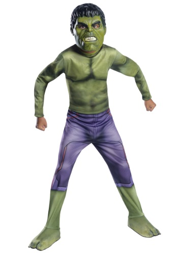 Click Here to buy Kids The Hulk Avengers 2 Costume from HalloweenCostumes, CDN Funds