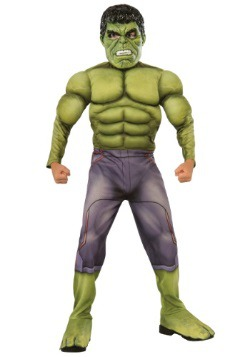 Child Deluxe Hulk Avengers 2 Costume