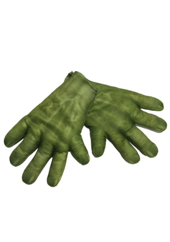Click Here to buy Adult Hulk Avengers 2 Gloves from HalloweenCostumes, CDN Funds & Shipping