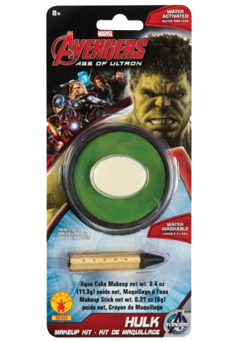 Click Here to buy Hulk Avengers 2 Makeup Kit from HalloweenCostumes, CDN Funds & Shipping