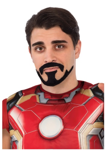 Click Here to buy Tony Stark Iron Man Mustache & Goatee from HalloweenCostumes, CDN Funds & Shipping