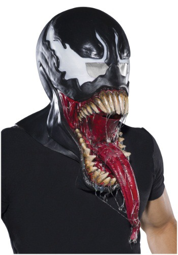 Click Here to buy Adult Deluxe Venom Latex Mask from HalloweenCostumes, CDN Funds & Shipping