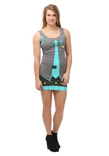 Hatsune Miku I Am Miku Womens Tunic Tank Costume