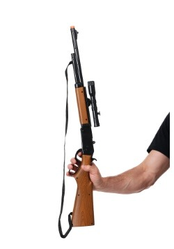 Toy Bolt Action Repeater Rifle with Scope