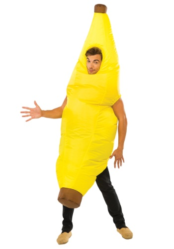 Click Here to buy Adult Inflatable Banana Costume from HalloweenCostumes, CDN Funds