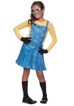 Child Female Minion Costume