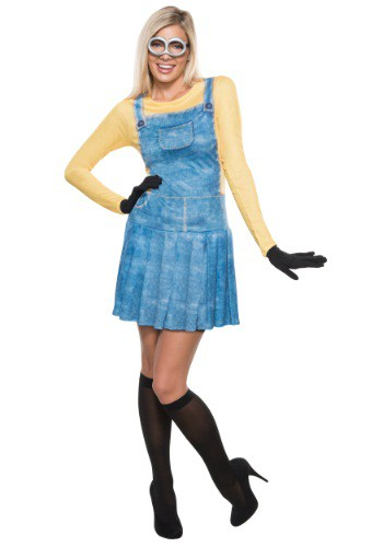 Womens Adult Minion Costume