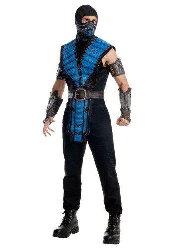 Click Here to buy Mortal Kombat X Adult Sub-Zero Costume from HalloweenCostumes, CDN Funds & Shipping