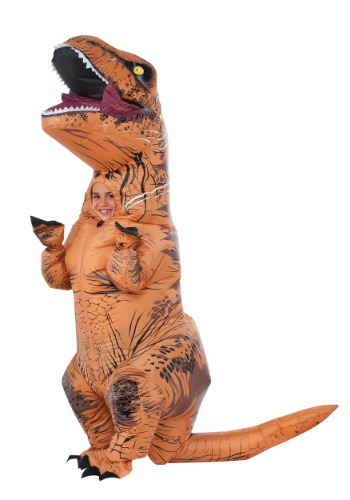 Child Inflatable Jurassic World T-Rex Costume