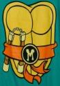 TMNT I Am Michelangelo Costume T-Shirt Logo