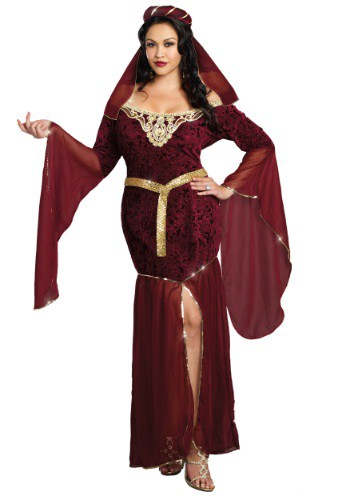 Plus Size Medieval Enchantress
